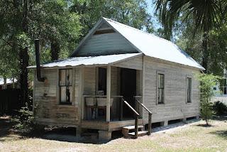 Casas de los colonos de la zona