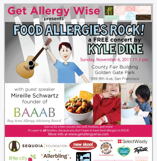 get allergy wise: Food Allergies Rock Event - November 6, 2011