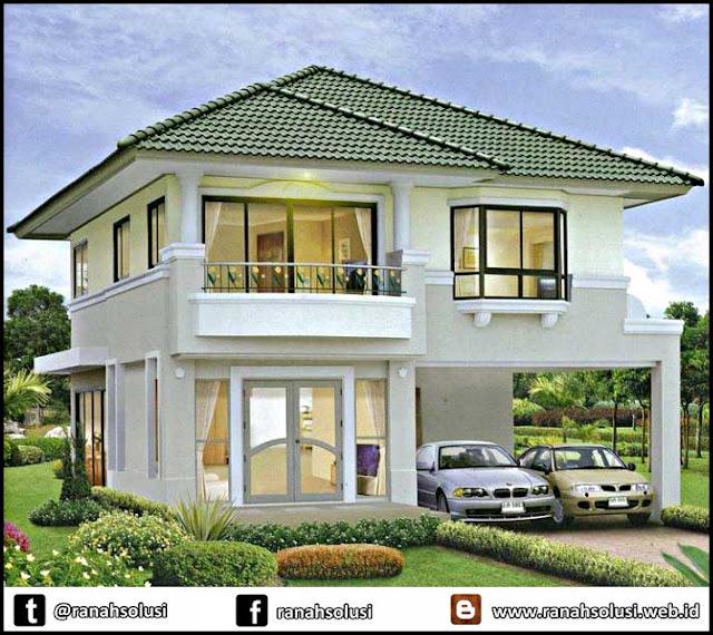 Gambar Desain Rumah Minimalis 2 Lantai Asri