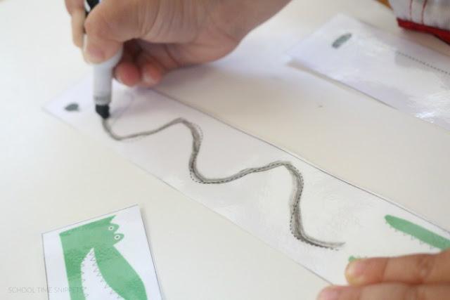 tracing lines printable