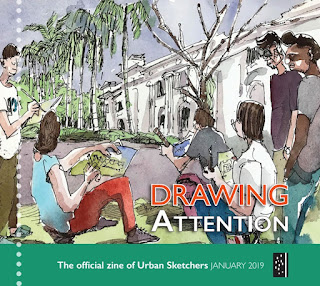 Drawing Attention Urban Sketchers