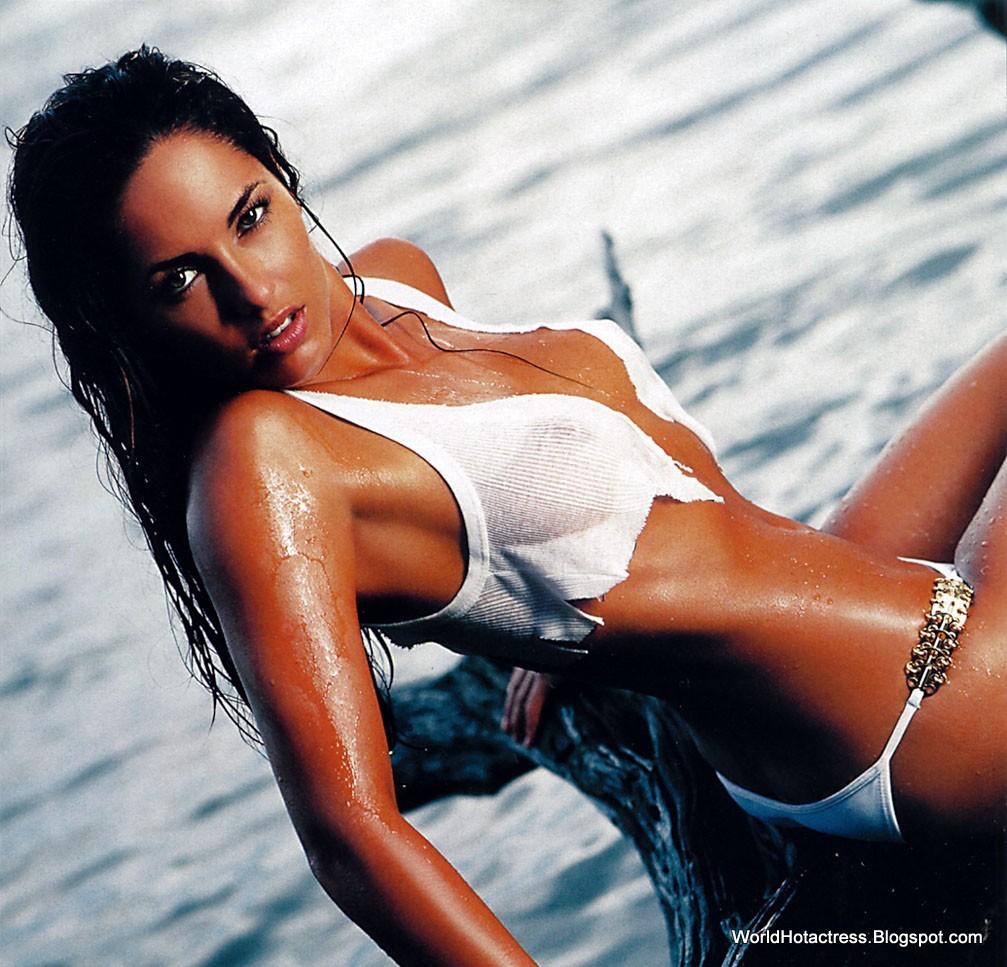 Barbara Mori Hot Sexy Beautiful Bikini, Lingerie -3874