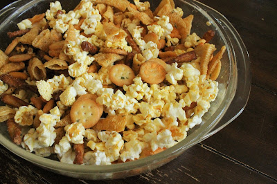 Tailgate Time! 20+ Favorite Recipes - Ranch Party Snack Mix