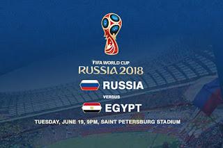 مشاهدة مباراة مصر وروسيا Egypt vs Russia بث مباشر 19-6-2018 يلا شوت يوتيوب رابط الأسطورة