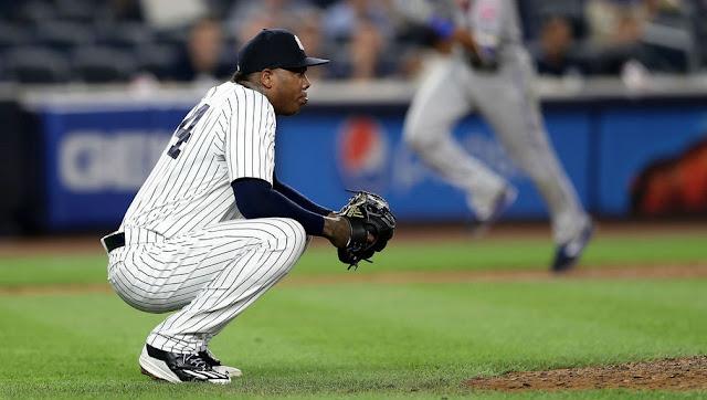 Por ahora, los Yankees podrían usar a Chapman ''en cualquier momento'' de los encuentros, dijo Girardi, quien no anunció un reemplazo como cerrador.