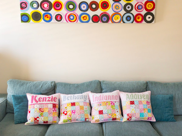 More Custom Cushions (Catch Up)