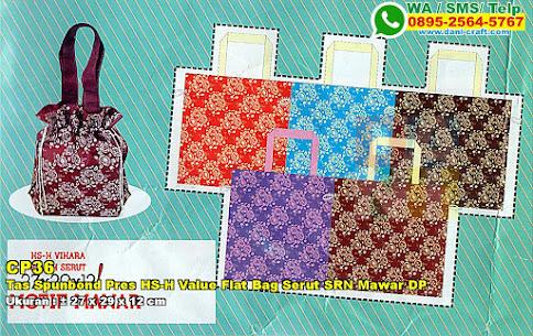 Tas Spunbond Pres HS-H Value Flat Bag Serut SRN Mawar DP