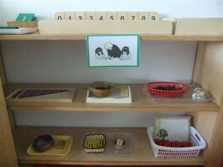 NAMC Montessori classroom furniture explained preschool elementary shelves