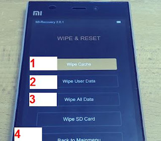 tutorial hard reset hp android xiaomi