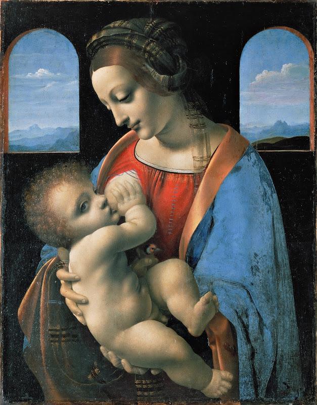 Leonardo da Vinci - The Madonna and Child (c.1490)