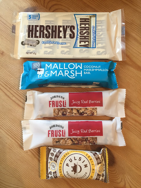 Snack Bars from the January 2018 Degustabox