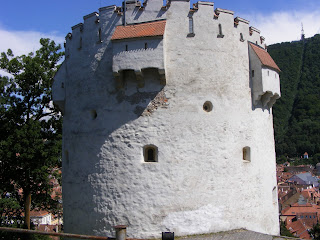Turnul Alb din Brasov Romania,