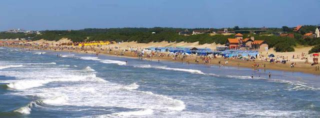 vista panorámica de las playas de valeria del mar