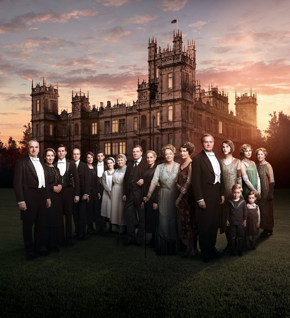 Downton Abbey Season Six Promotional Poster + Images. Looking at the Downton Abbey season six photos - just because, it's fun! Text © Rissi JC