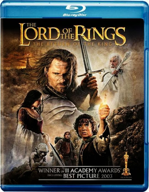 The Lord of the Rings The Return of the King 2003 EXT BRRIp 480p Dual Audio 600MB