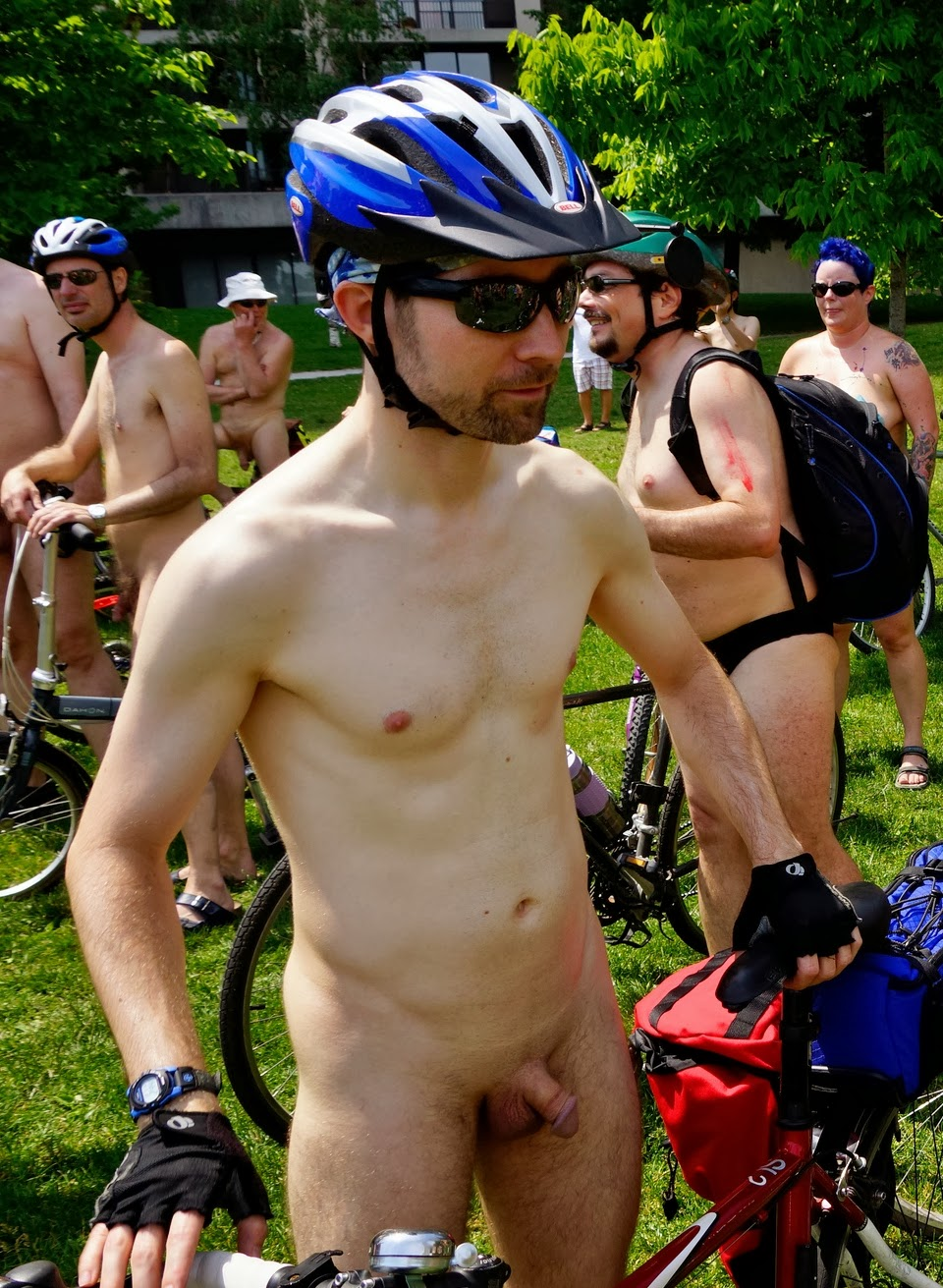 Numb penis while riding bike