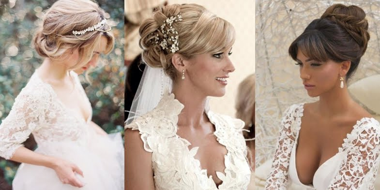 Formal Hairstyle Ideas With Bangs