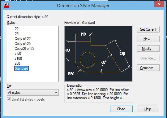 Autocad Dasar Inilah Cara Setting New Dimensi Pada Autocad Secara Detail Basic Arsitek