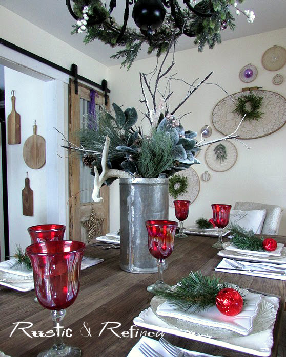 Seasonal holiday tables for Entertaining