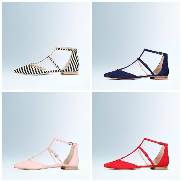 Boden sale, Bonnie studded flat shoes