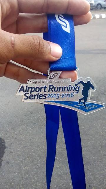 Bentuk medali Lari Sensasional