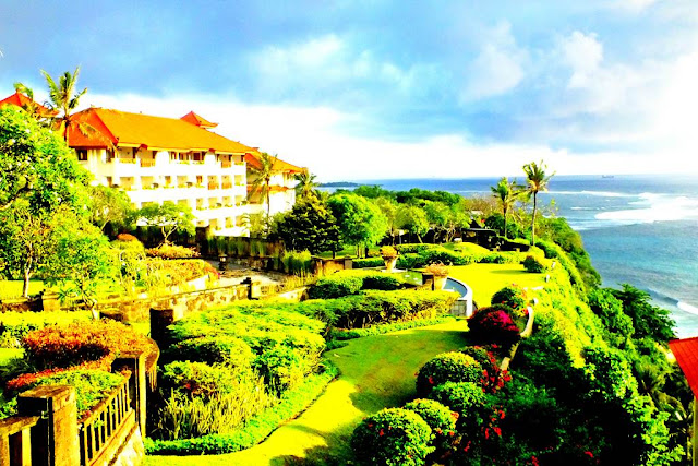 Stunning Views From an Aisle of Grand Nikko Hotel Nusa Dua Bali