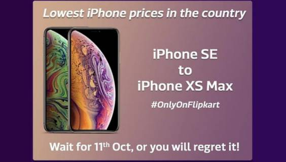 Flipkart Big Billion Days i-Phone Sale