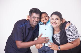 Puganeswari Selvaraj Family Portrait