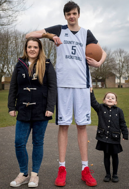 tallest teenager in the world height