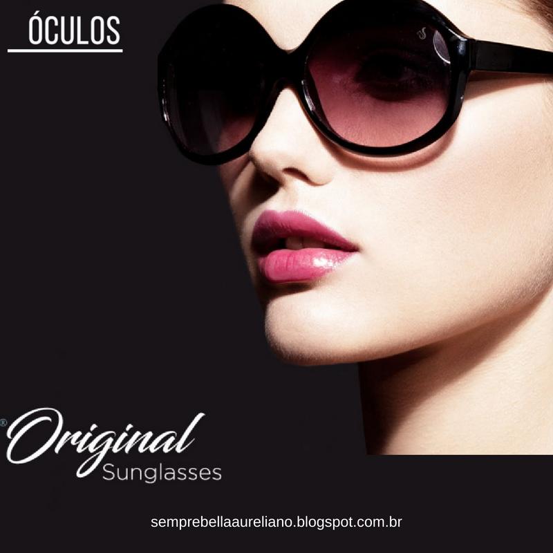 850aafb8b048c Sempre Bella Aureliano Coleção Óculos 2018