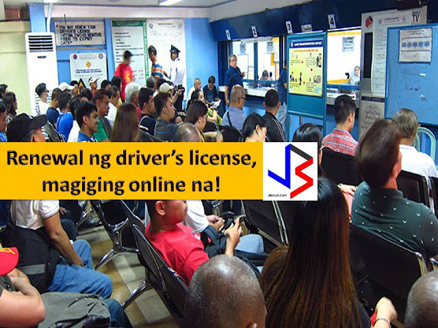 Renewal of driver's license in the Philippines will be online soon.  According to Assistant Secretary Ed Galvante, the Land Transporation Office (LTO) is planning to make driver's license renewal online, as well as the submission of requirements like pictures.  Galvante said there's a facial recognition system that can identify one's identity through his core facial features.