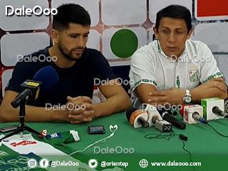 Yimy Montaño presentó a Matías Duffard como el nuevo jugador de Oriente Petrolero - DaleOoo