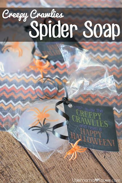 creepy crawly soap