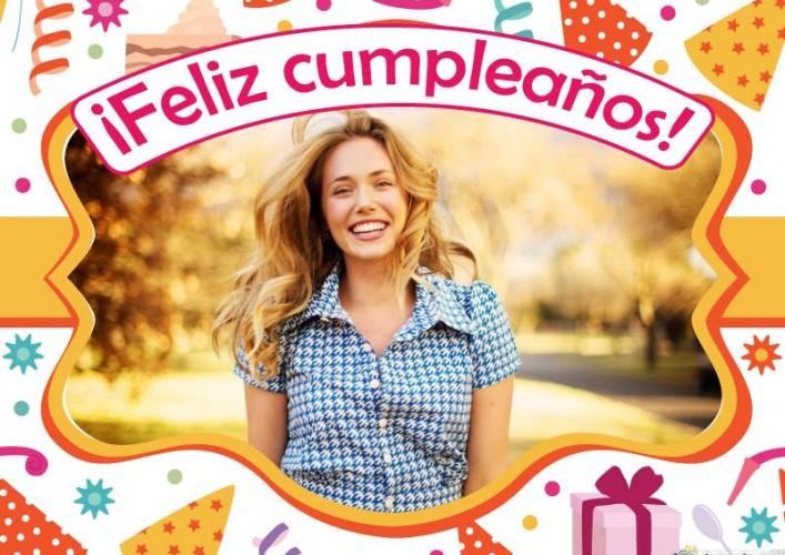 Foto Efectos Online Fotomontajes de cumpleaños