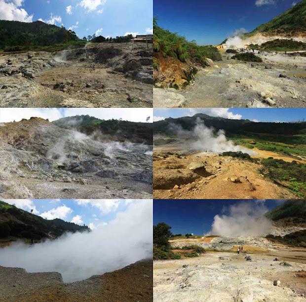 Kawah Sikidang Obyek Wisata Dieng Kab Banjarnegara Imgurl