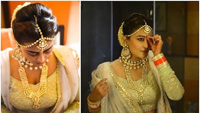 Dressed bride Nidhi