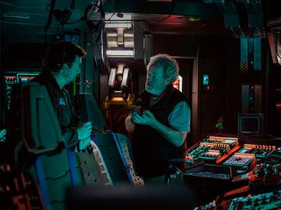 Primera imagen de Danny McBride en el rodaje de 'Alien: Covenant'
