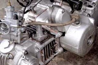 Alat-alat yang tidak bergerak pada motor 4 takt