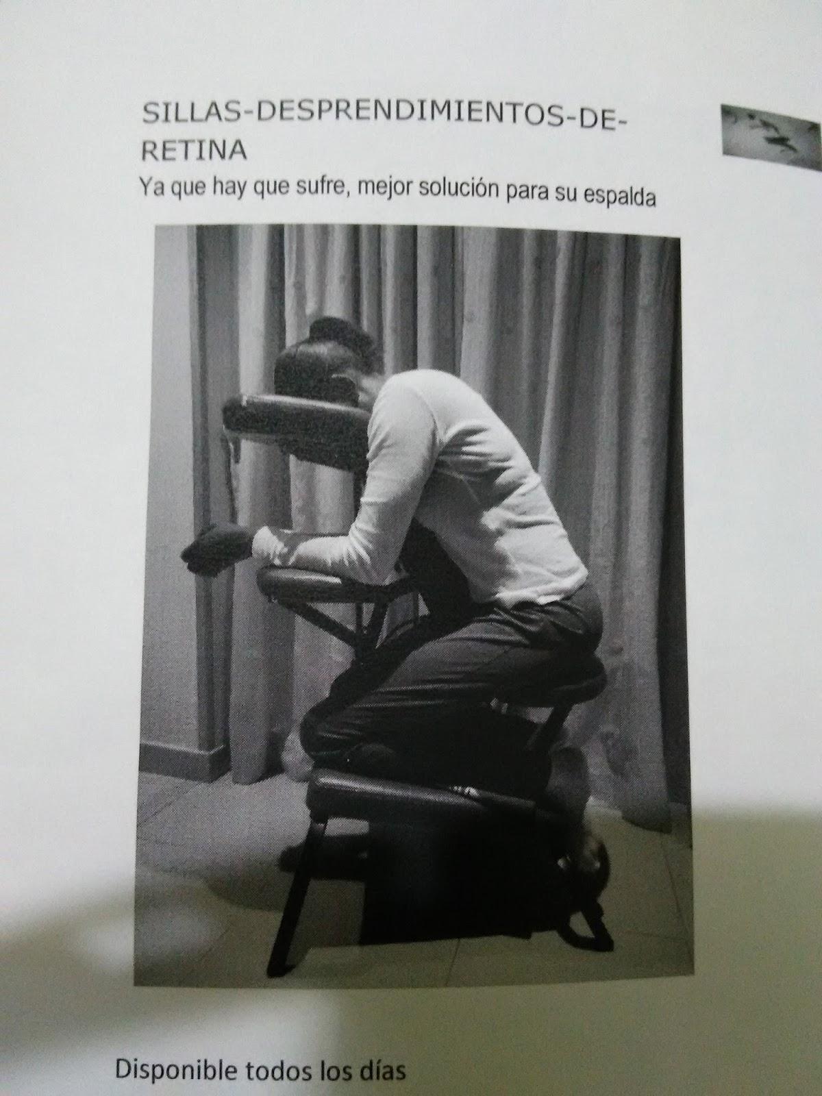 Operaci n desprendimiento de retina - Sillas para la espalda ...