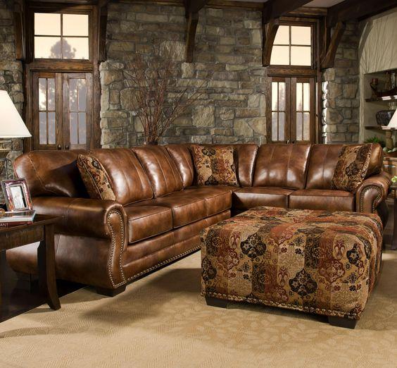 western leather living room furniture - Furniture Design ...