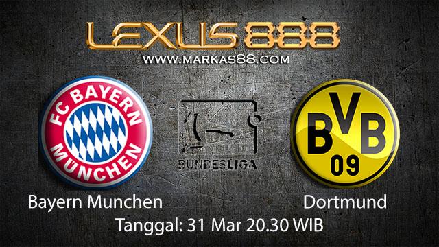 BOLA88 - PREDIKSI TARUHAN BOLA BAYERN MUNCHEN VS DORTMUND 31 MARET 2018 ( GERMAN BUNDESLIGA )