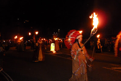 Littlehampton Bonfire celebrations 2011