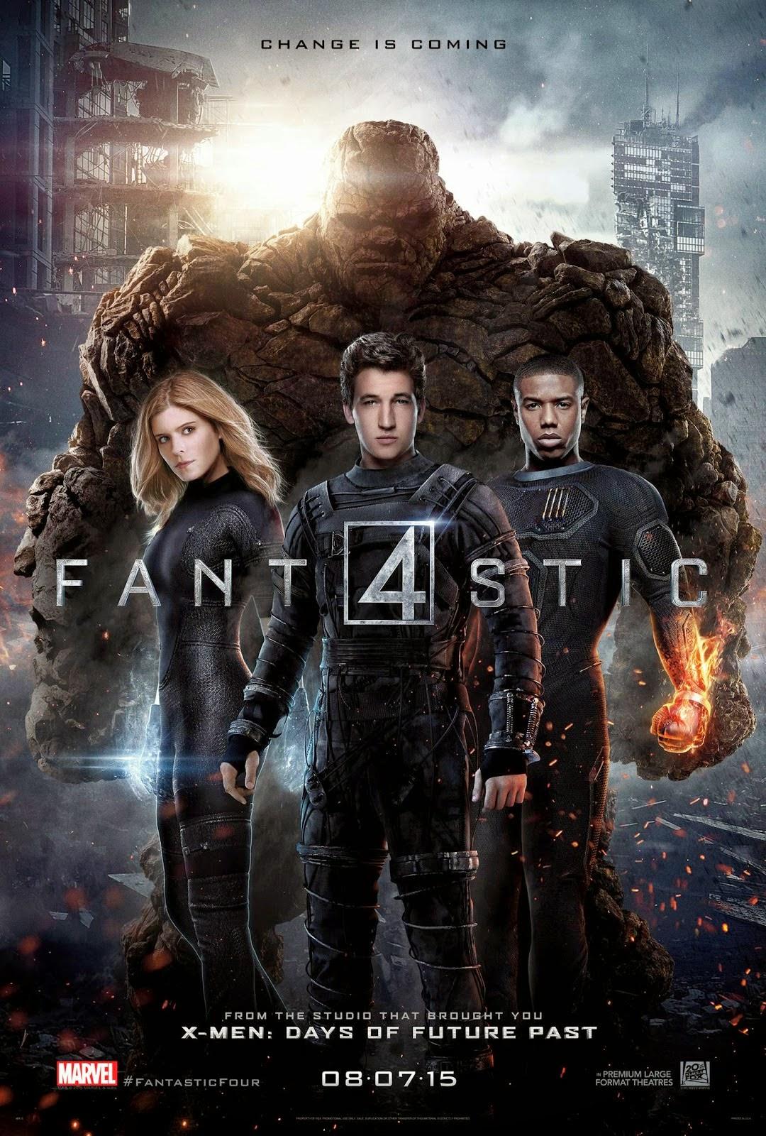 The Fantastic Four (2015) สี่พลังคนกายสิทธิ์ ภาค 3 [HD]