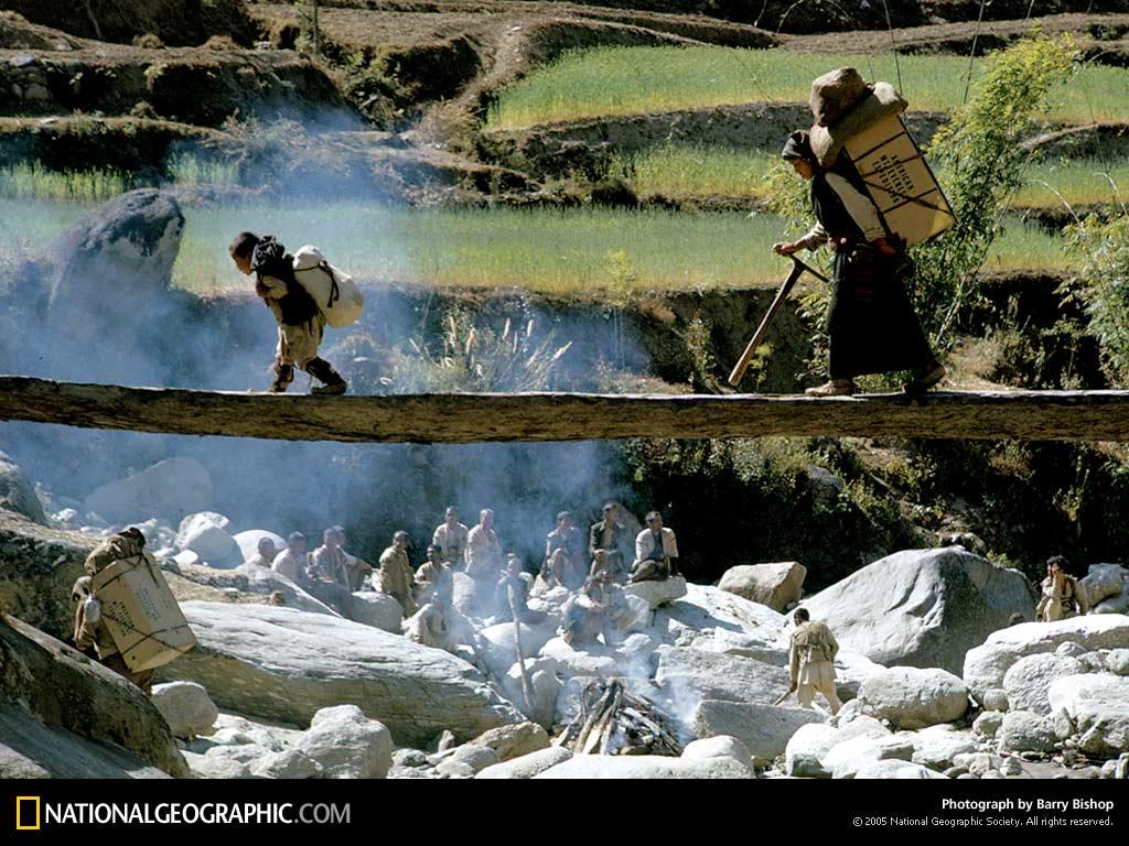 Fall Morning Wallpaper Nepal Nature Background 3