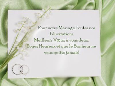 Texte mariage