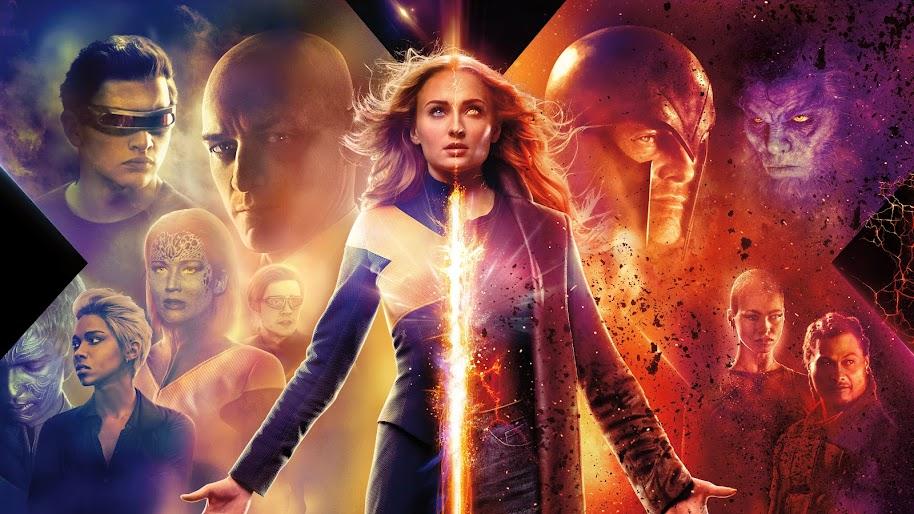 X Men Dark Phoenix Jean Grey Characters Cast 8k Wallpaper 41