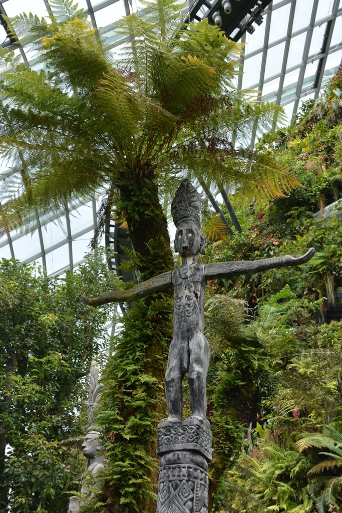 Cloud Forest Singapore totem