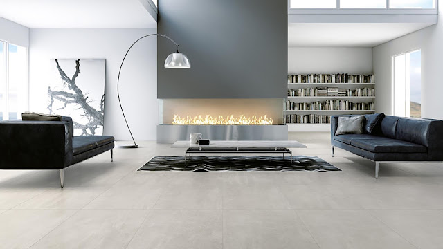 Tiles for floor design Uptown collection - Modern living