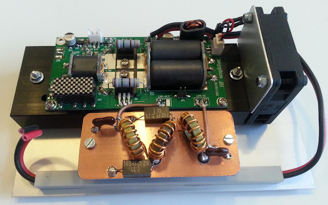 70W SSB linear HF Power Amplifier