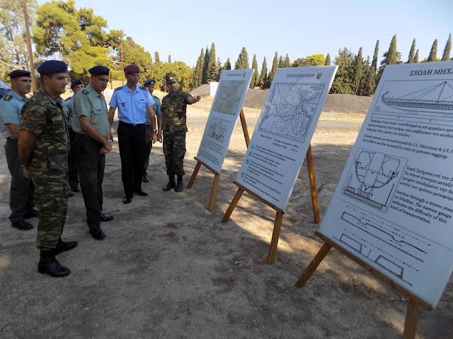 Επίσκεψη του Διοικητή του Κέντρου Αριστείας Μηχανικού του ΝΑΤΟ στο Κέντρο Εκπαιδεύσεως Μηχανικού (ΚΕΜΧ) στο Ναύπλιο